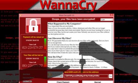 wannacry rasonware virus