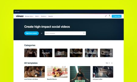 vimeo create