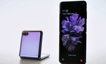 Galaxy Z Flip celular flexible