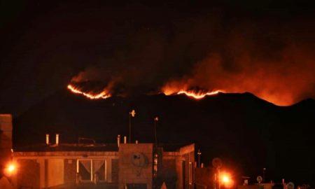 Incendio San Luis
