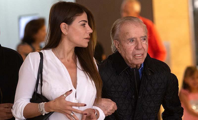Carlos Menem Eltern