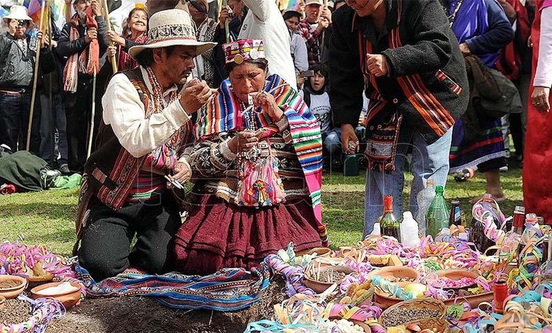 Ni leyenda, ni caña con ruda:Recorrido por la tradición de la Pachamama