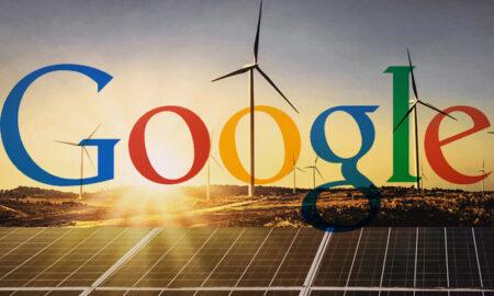 google energía limpia