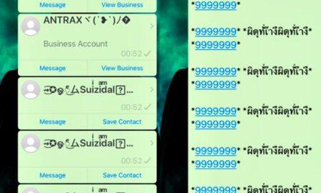 mensaje temible whatsapp