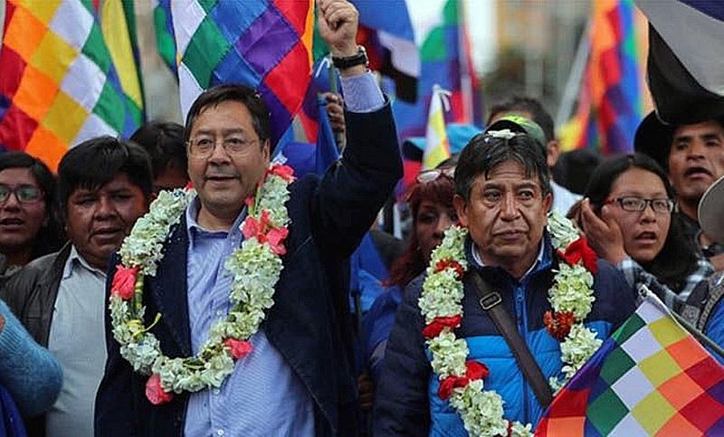 Luis Arce asume este mediodía como presidente de Bolivia