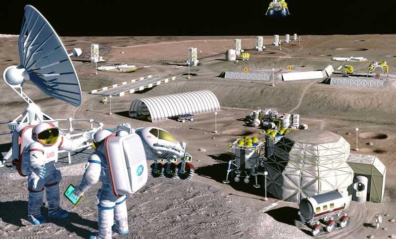 Empresa israelí desarrolló tecnología para fabricar oxígeno en la Luna