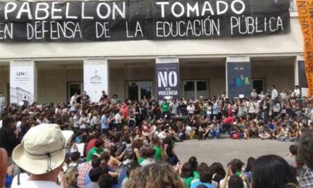 Protesta estudiantes procesados