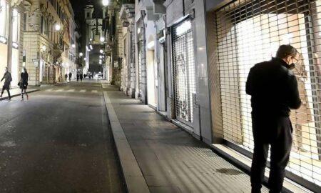calles y comercios en italia