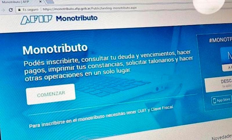 Monotributo: rige la ley que otorga «alivio fiscal» a los contribuyentes