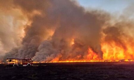 incendio forestal santa fe