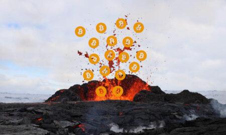 energía volcánica bitcoin