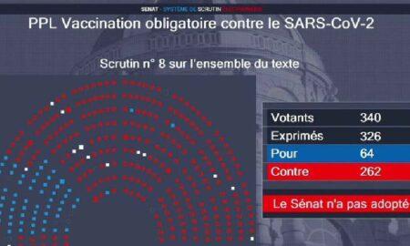 senado francés contra la vacunación obligatoria covid